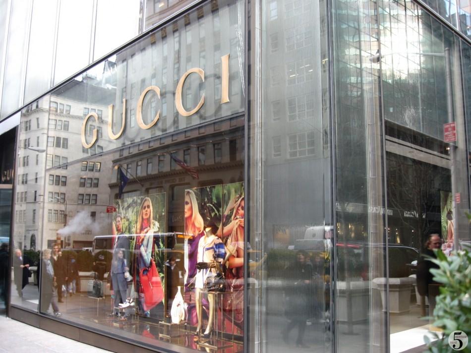 Gucci on 5th Avenue