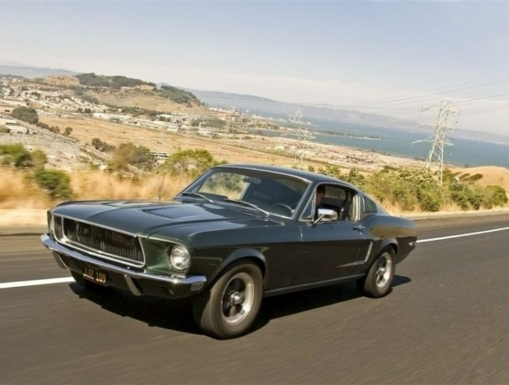 """""""Cars and cinema, it's a love affair for the ages and some of the cars that graced our favourite films over the years have been immortalised by their star turns.""""  Top iconic movie cars Bullitt Mustang replica2 740x560"""