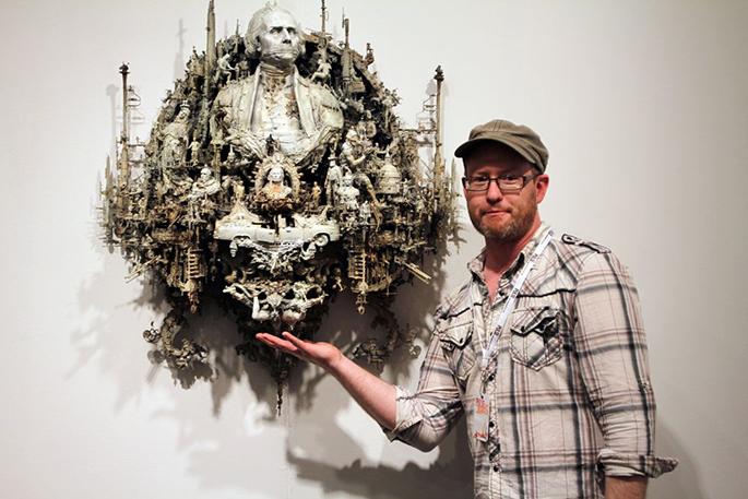 Kris Kuksi creates is own world in art Kris Kuksi 4
