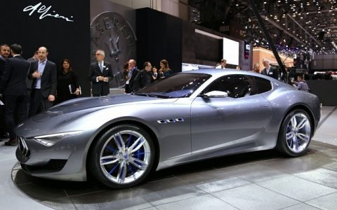 """Maserati built the Alfieri concept, unveiled at the 2014 Geneva show, for its 100th anniversary.""  New Maserati Alfieri presented at 2014 Geneva show maserati alfieri concept 100458631 l 480x300"