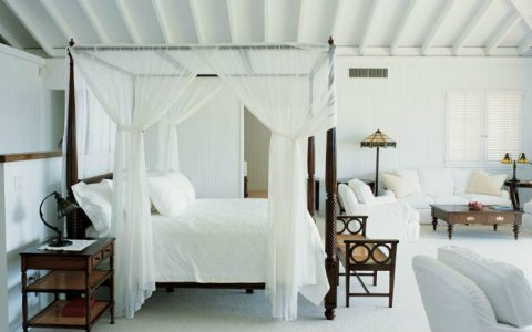 Luxurious and design master bedroom