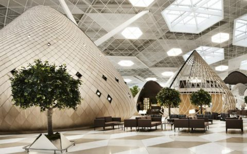 The Futuristic Terminal of Baku's Heydar Aliyev International Airport  cover7 480x300