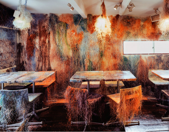 Kengo Kuma converts Tokyo Bar into Explosion of Colors  Kengo Kuma converts Tokyo Bar into Explosion of Colors cover9