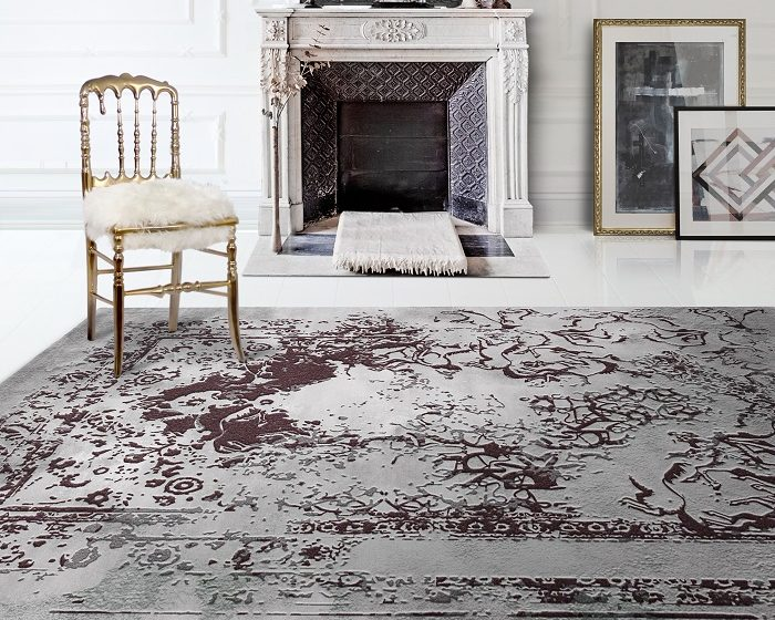 """""""Boca do Lobo is always innovating and creating unique designs and this time the team came up with a new collection of rugs.""""  New luxury rugs collection by Boca do Lobo New luxury rugs collection by Boca do Lobo news i lobo you5 700x560"""
