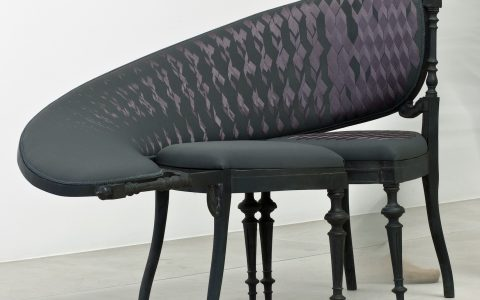 """Today we present you some design chairs that you would like to have in your house as an artwork.""  Amazing chairs that look like artworks brajkovic latheix 04 480x300"