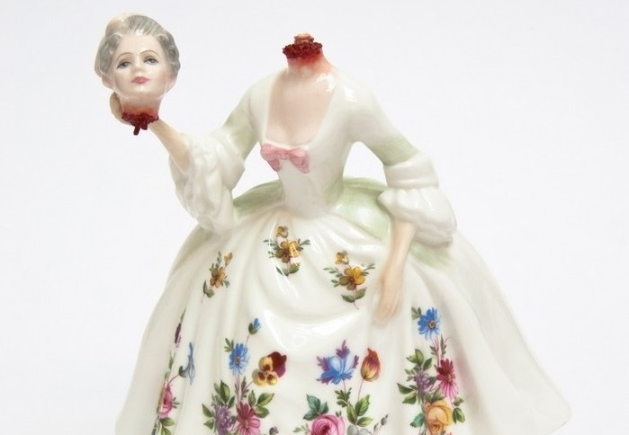 jessica harrison Bloody porcelain dolls by Jessica Harrison Bloody porcelain dolls by Jessica Harrison arts and crafts I Lobo you14 homepage Homepage Bloody porcelain dolls by Jessica Harrison arts and crafts I Lobo you14