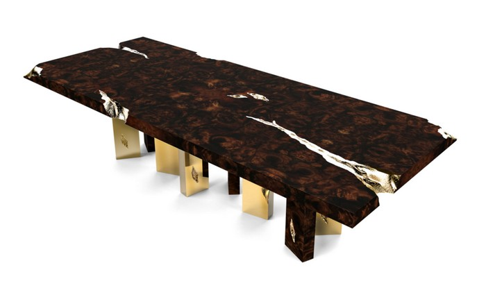 Boca do Lobo have launched some new furniture designs at Maison et Objet 2016. New furniture designs New furniture designs by Boca do Lobo New furniture designs by Boca do Lobo empire table I Lobo you