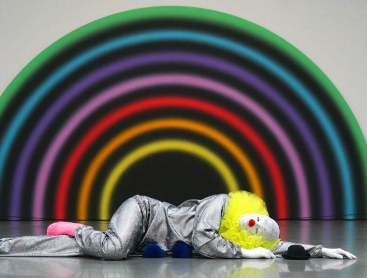 ugo rondinone Ugo Rondinone's Whimsical Art Installation with Clowns cover 4 740x560