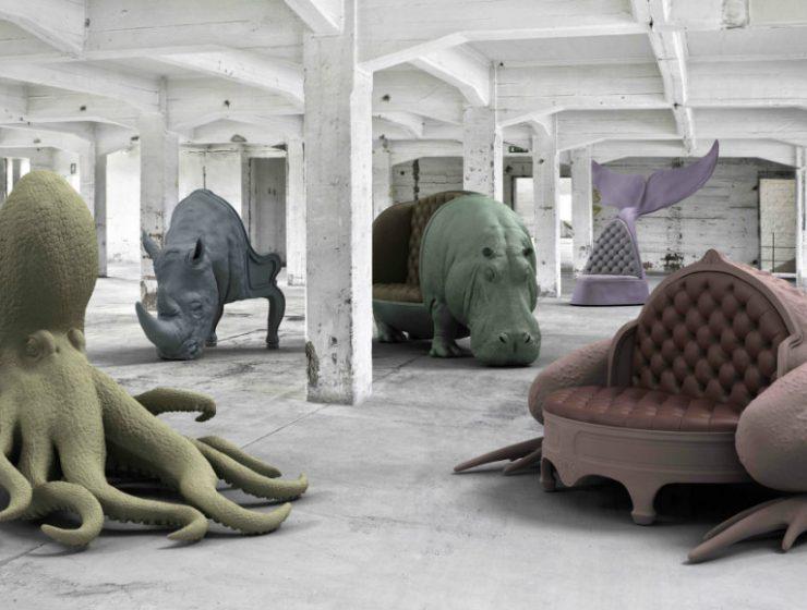 art furniture Maximo Riera's Unique Art Furniture cover 2 740x560