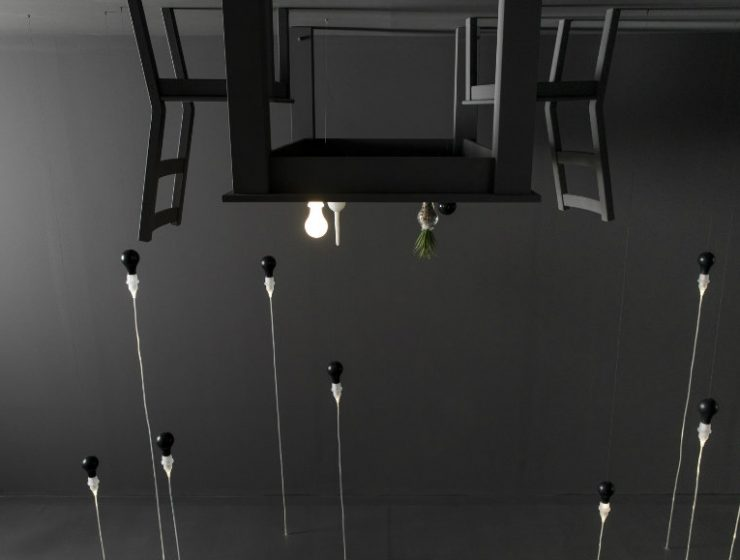 art furniture The Inverted Room: Art Furniture Series By Foscarini X James Wines cover 5 740x560