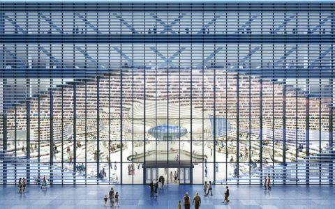 mvrdv The Fantastic Design Of The New Library In China By MVRDV tianjin 480x300