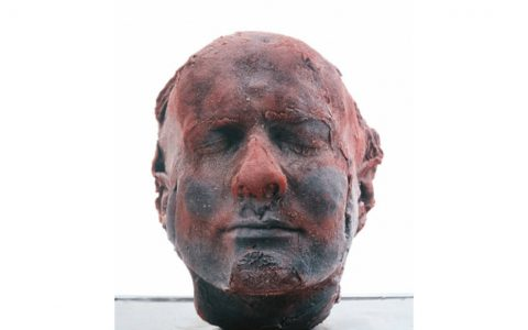 marc quinn Modern Art: A Bloody Self-portrait By Marc Quinn ffffffffffffff 480x300