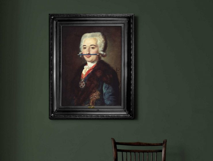 Mineheart was launched in 2010 by two designers. They have a collection of wall decoration mixing classical portraits with contemporary features. Wall decoration Discovering Mineheart Wall decoration 1 Discovering Mineheart Wall decoration I lobo you 740x560
