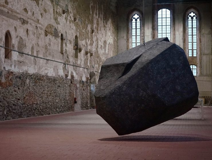 Danish-German artist duo Anna Borgman and Candy Lenk created a series of art installation exploring the relationship between sculpture and place. art installation An art installation to reflect about space 1 An art installation to reflect about space I Lobo you 11 740x560