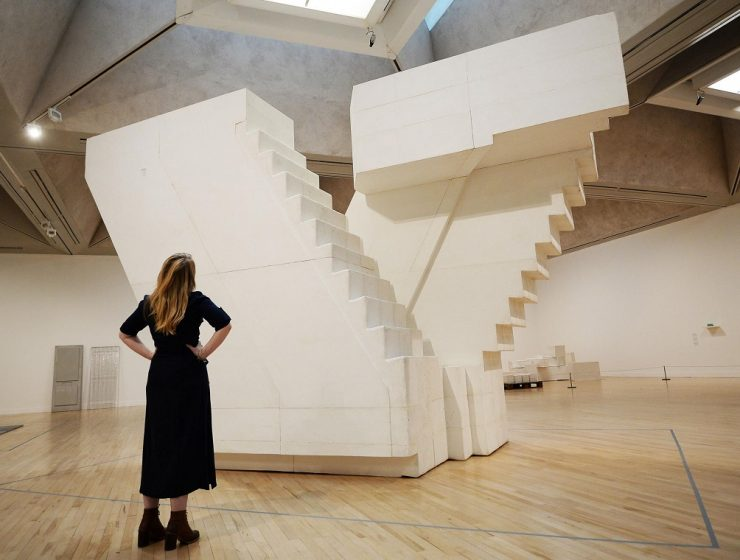 In Rachel Whiteread's sculptures everyday settings, objects, and surfaces are transformed into ghostly replicas. Some are resembling architectural design. Architectural design Architectural design by Rachel Whiteread 1 Architectural design by Rachel Whiteread I Lobo you 8 740x560