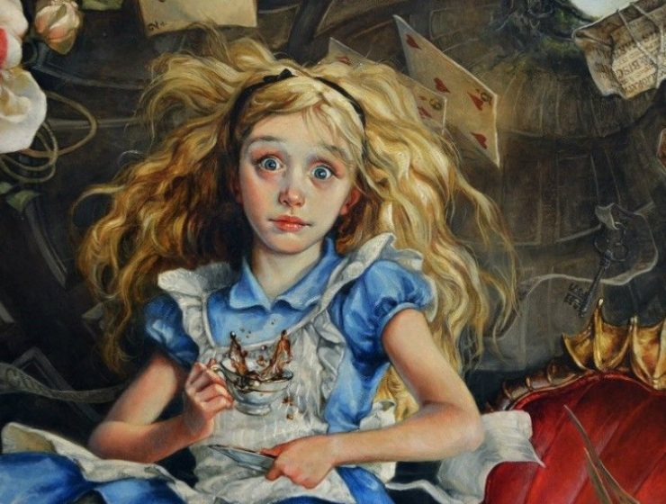 oil paintings Artist Portrays Disney Characters as Oil Paintings feature image 1 740x560