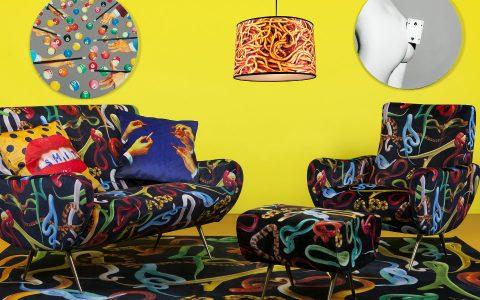fun furniture Fun Furniture Pieces by Maurizio Cattelan's TOILETPAPER Magazine feature 6 480x300