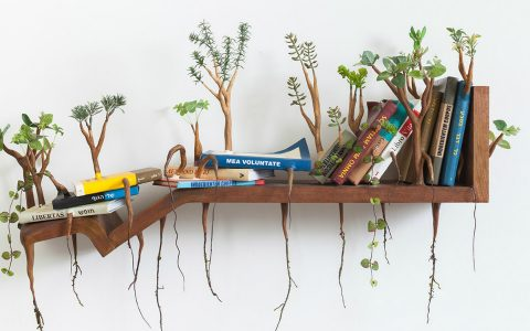 Furniture Art Furniture Art with Growing Wooden Limbs by Camille Kachani feature 18 480x300