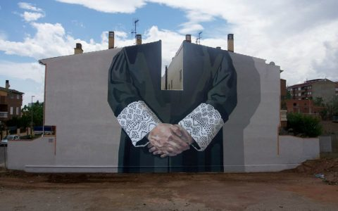 wall murals World's Giant Wall Murals Get Dressed Up by Street Artist Hyuro feature 2 480x300