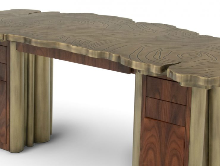 wooden desk A Fearless Design Aesthetic – Fortuna Wooden Desk A Fearless Design Aesthetic     Fortuna Desk feature 1 740x560