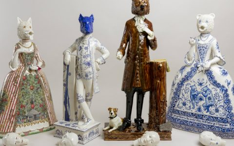 ceramic art Animal, Historic and Mythical Figures' Traits Merged in Ceramic Art Animal Historic and Mythical Figures Traits Merged in Ceramic feature 480x300