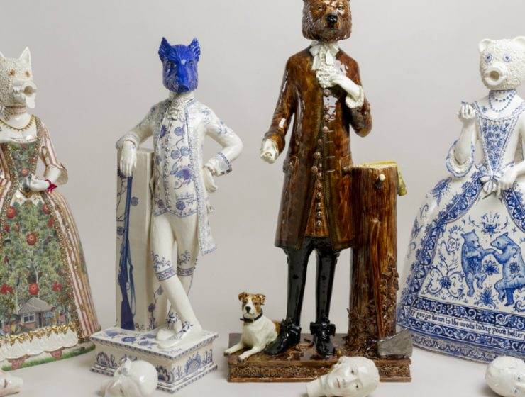 ceramic art Animal, Historic and Mythical Figures' Traits Merged in Ceramic Art Animal Historic and Mythical Figures Traits Merged in Ceramic feature 740x560