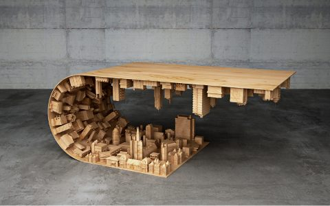 modern coffee tables Skyscraping Modern Coffee Tables by Stelios Mousarris Mousarris Wave 1 480x300