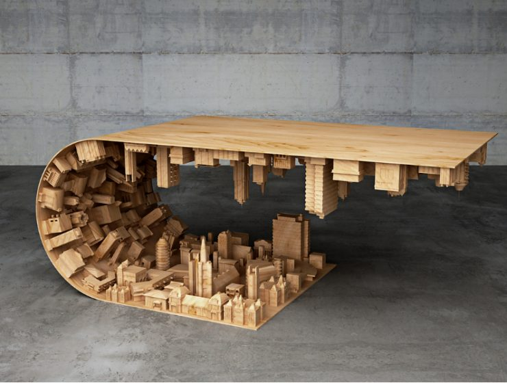 modern coffee tables Skyscraping Modern Coffee Tables by Stelios Mousarris Mousarris Wave 1 740x560