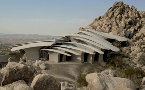 architecture art Doolittle House, An Example of Organic Architecture Art in Joshua Tree Doolittle House An Example of Organic Architecture in Joshua Tree feature 480x300