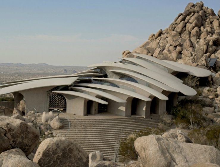 architecture art Doolittle House, An Example of Organic Architecture Art in Joshua Tree Doolittle House An Example of Organic Architecture in Joshua Tree feature 740x560