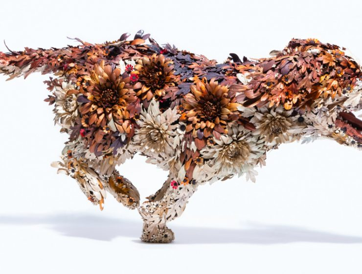 metal sculptures Taiichiro Yoshida's Flowery Metal Sculptures Taiichiro Yoshida   s Flowery Sculptures feature 740x560