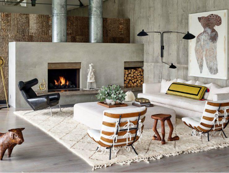 modern home A Statement Modern Home with A World-Class Art Collection feature art home 740x560