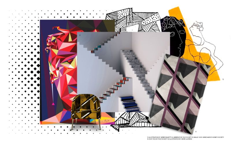 A Neocubism Invasion Inside Your Artsy Home Design home design A Neocubism Invasion Inside Your Artsy Home Design A Neocubism Invasion Inside Your Artsy Home