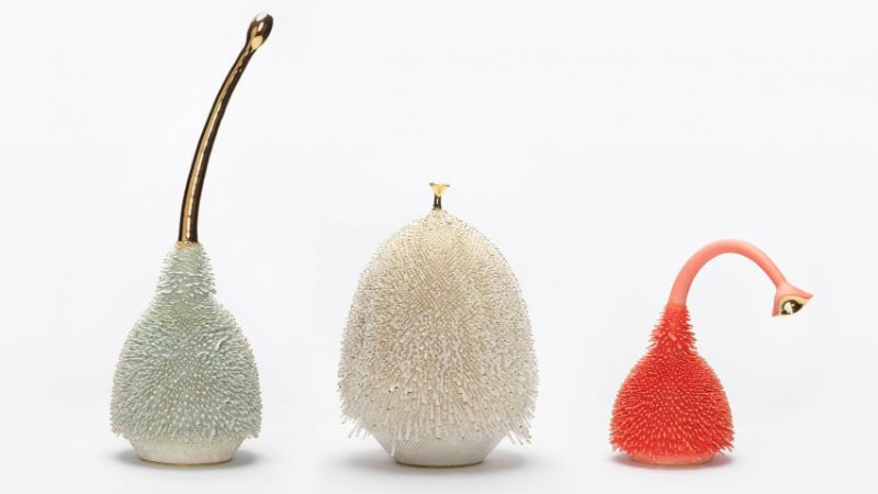 Alien-Like Modern Art Objects Designed By Haas Brothers, The Iconic Duo