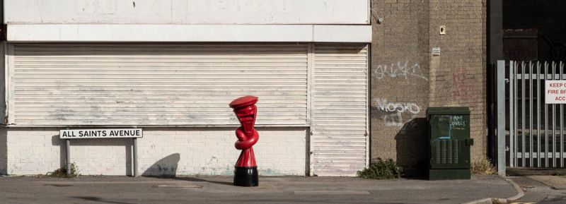 Alex Chinneck Installs 'Knotted' Post Boxes Across The UK alex chinneck Alex Chinneck Installs 'Knotted' Post Boxes Across The UK Chinneck Installs Knotted Post Boxes Across The UK
