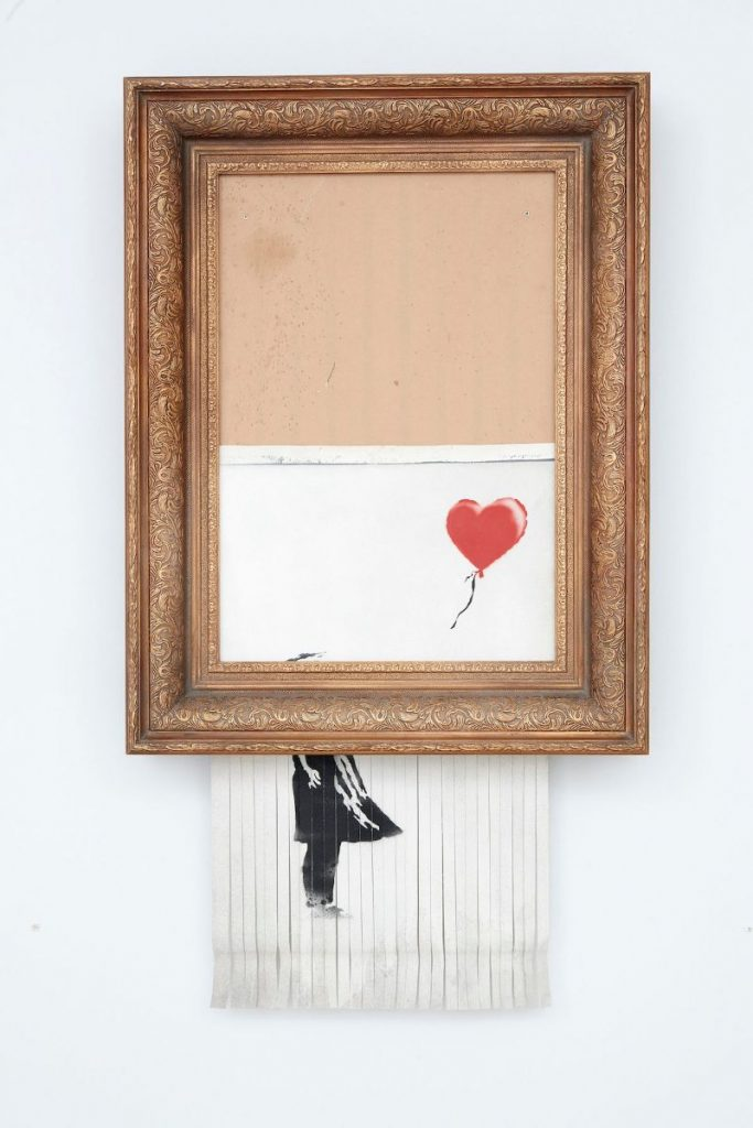 The Most Expensive Artwork by Banksy Sold At Auctions banksy The Most Expensive Artwork by Banksy Sold At Auctions The Most Expensive Artwork byBanksy Sold At Auctions 3 683x1024