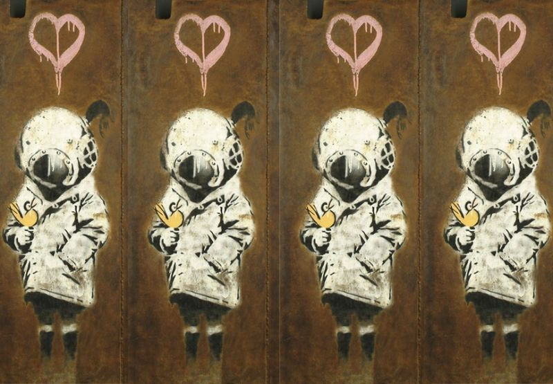 The Most Expensive Artwork by Banksy Sold At Auctions banksy The Most Expensive Artwork by Banksy Sold At Auctions The Most Expensive Artwork byBanksy Sold At Auctions