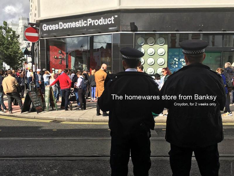 Banksy Strikes Again! The Opening Of A Dystopian Homewares Store banksy Banksy Strikes Again! The Opening Of A Dystopian Homewares Store The Opening Of A Dystopian Homewares Store 2