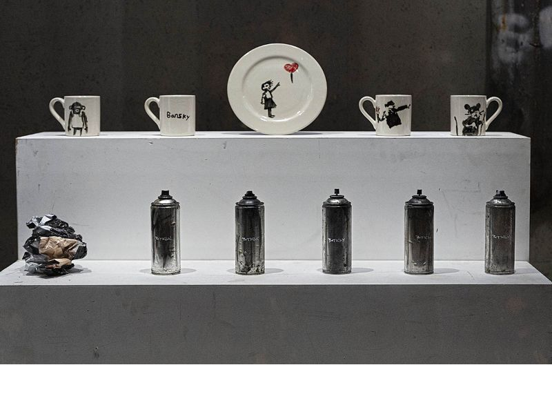 Banksy Strikes Again! The Opening Of A Dystopian Homewares Store banksy Banksy Strikes Again! The Opening Of A Dystopian Homewares Store The Opening Of A Dystopian Homewares Store 9