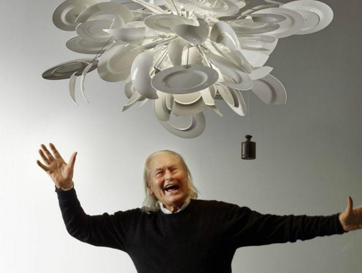 "ingo maurer Reminiscing ""Poet Of Light"" Ingo Maurer's Pioneering Ideas In Design feature 740x560 homepage Homepage feature 740x560"