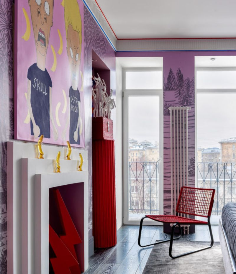 A Pink-ish Abode - Modern Design with A Russian Character modern design A Pink-ish Abode – Modern Design with A Russian Character A Pink ish Abode Design with A Russian Character 6