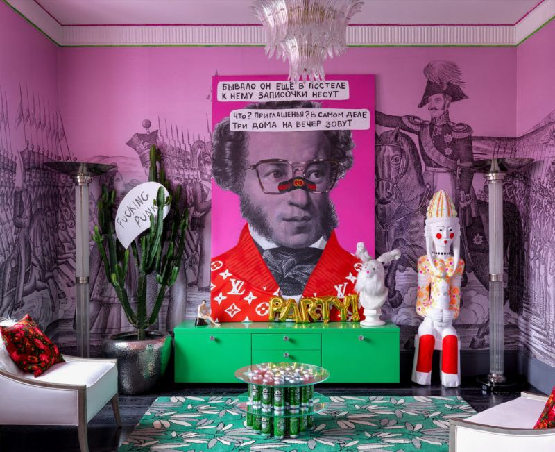 A Pink-ish Abode - Modern Design with A Russian Character modern design A Pink-ish Abode – Modern Design with A Russian Character A Pink ish Abode Design with A Russian Character