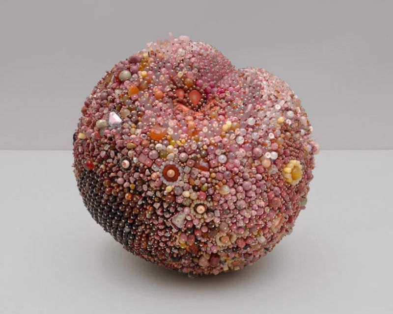 Beaded Modern Art Turns Into Rotten Over-Sized Fruit modern art Beaded Modern Art Turns Into Rotten Over-Sized Fruit Beaded Art Turns Into Rotten Over Sized Fruit 8