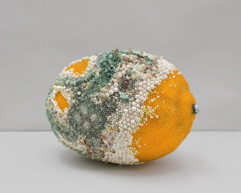 Beaded Modern Art Turns Into Rotten Over-Sized Fruit modern art Beaded Modern Art Turns Into Rotten Over-Sized Fruit Beaded Art Turns Into Rotten Over Sized Fruit 9
