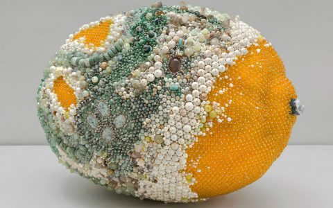 modern art Beaded Modern Art Turns Into Rotten Over-Sized Fruit Beaded Art Turns Into Rotten Over Sized Fruit feature 480x300