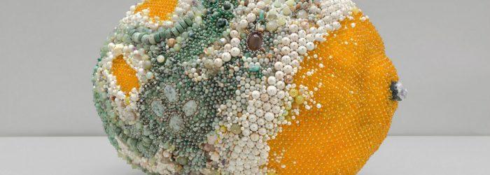 modern art Beaded Modern Art Turns Into Rotten Over-Sized Fruit Beaded Art Turns Into Rotten Over Sized Fruit feature 700x250 homepage Homepage Beaded Art Turns Into Rotten Over Sized Fruit feature 700x250