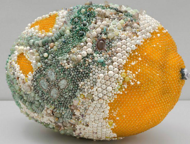 modern art Beaded Modern Art Turns Into Rotten Over-Sized Fruit Beaded Art Turns Into Rotten Over Sized Fruit feature 740x560