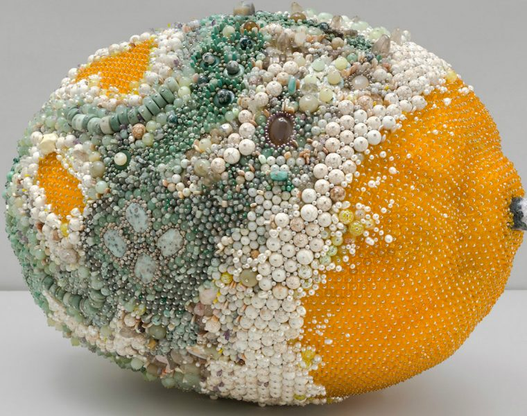 modern art Beaded Modern Art Turns Into Rotten Over-Sized Fruit Beaded Art Turns Into Rotten Over Sized Fruit feature 760x600 homepage Homepage Beaded Art Turns Into Rotten Over Sized Fruit feature 760x600