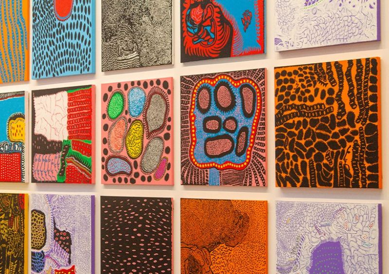 Yayoi Kusama's Long-Anticipated Art Exhibition yayoi kusama Yayoi Kusama's Long-Anticipated Art Exhibition Kusama   s Long Anticipated Exhibition 2