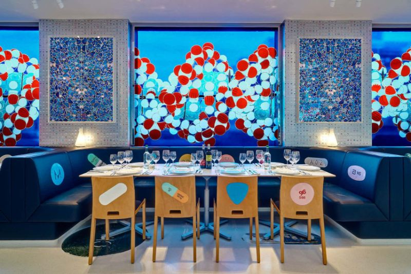 Modern Restaurant Designs That Feature The Best Artwork restaurant designs Modern Restaurant Designs That Feature The Best Artwork Modern Designs That Feature The Best Artwork